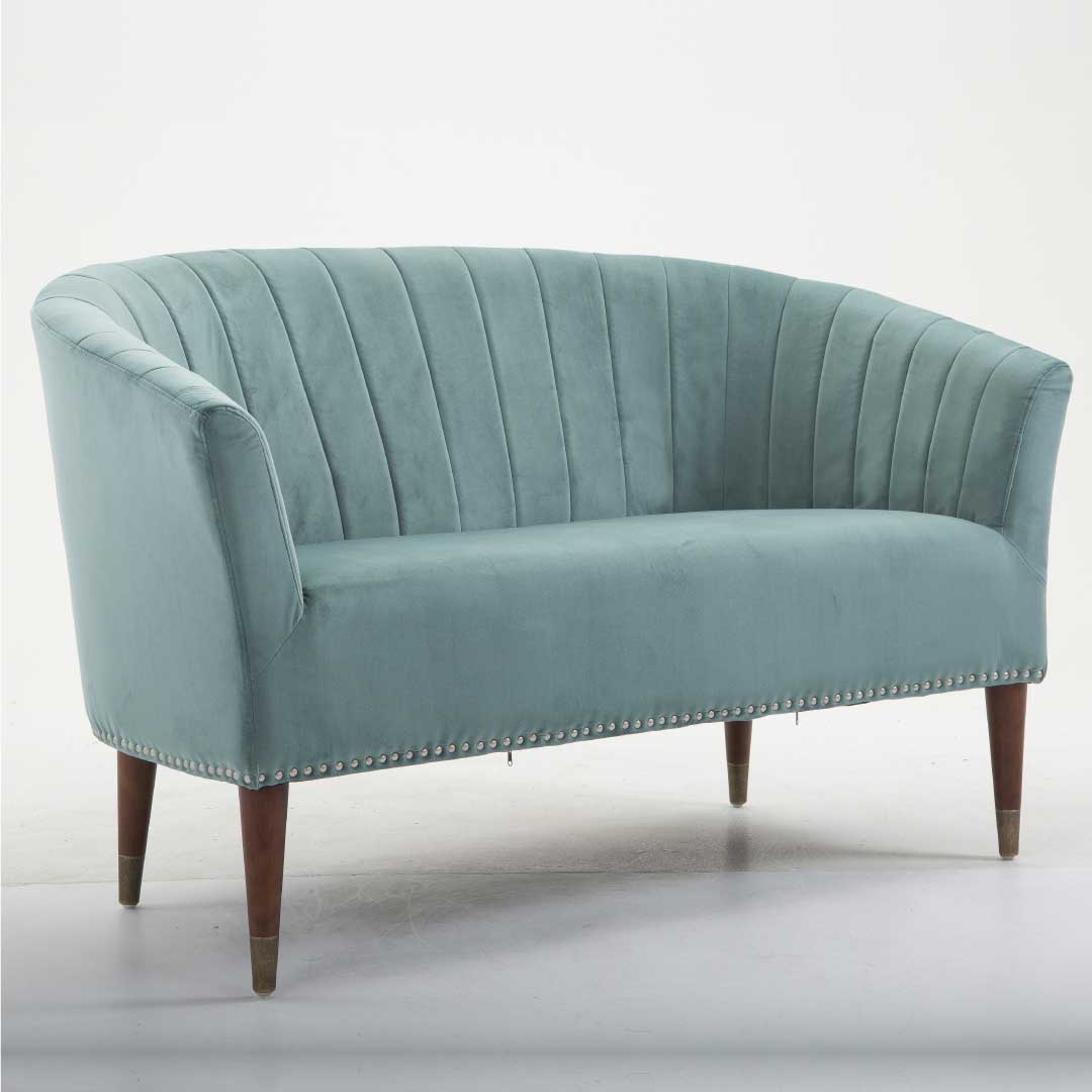 The Teal Love Seat