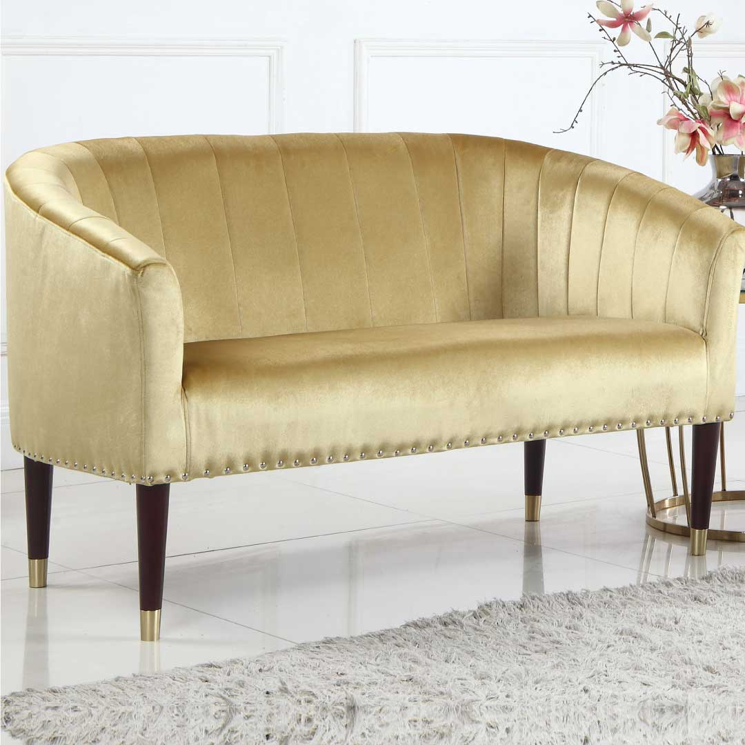 The Golden Love Seat