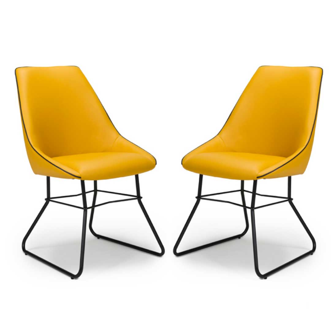 Orchard Orange Chair Set (x2)